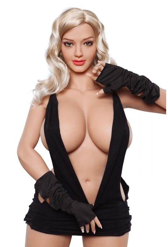 Poupée sexuelle articulations mobiles en TPE - 160cm - Josie