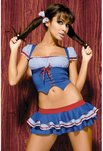 Costume de paysanne pour love doll