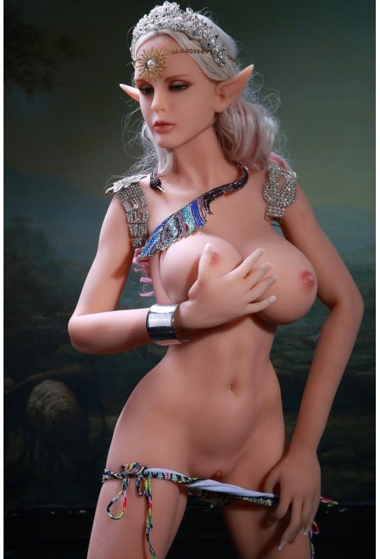 Elfe et coquine - Poupée grandeur nature 165cm - Anna