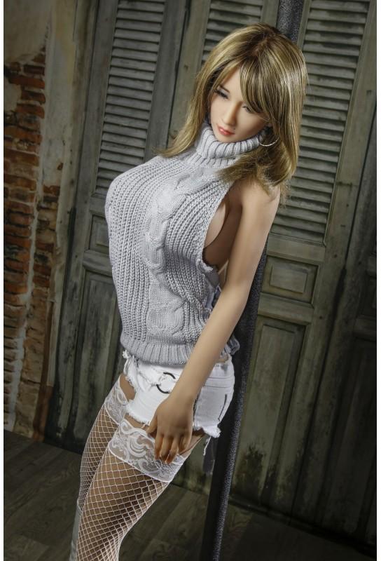 Jolie Doll aux gros seins en TPE - 170cm - Leopoldine