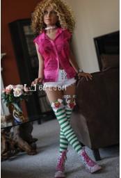 Jolie Sex doll moulée en TPE - 150cm - Nawelle