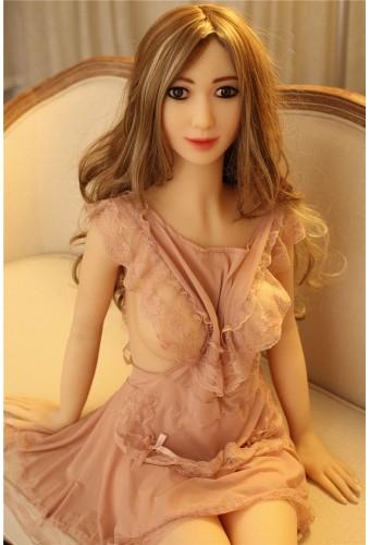 Poupée réaliste avec vrais orifices sexuels - 155cm - Sandra