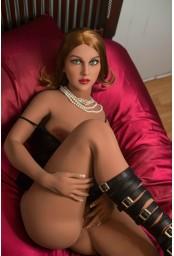 YL Doll Poupée de charme en TPE - 165cm - Virginie