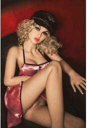 Jolie doll esthétique moulée en TPE - 157cm - Pamela