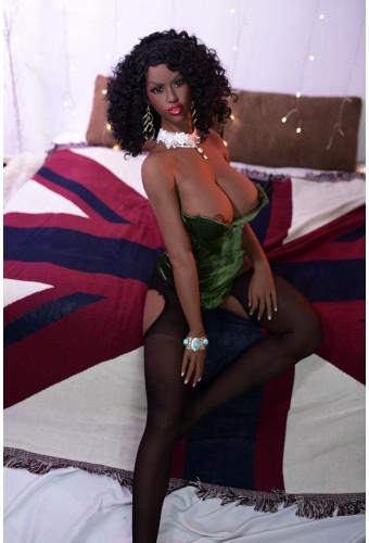 Poupée sensuelle Black 6YEPremium - 161cm E-CUP - Odelia
