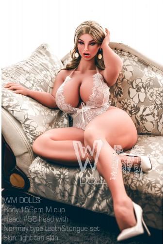 Sexy Doll moulée en TPE - Marysa - WMDoll 156cm M-CUP
