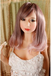 Mini real doll en silicone - 120cm - Bathilde