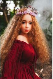 Mini sex doll en silicone - 120cm - Beatrix