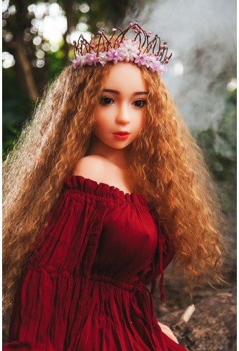 Mini sex doll en silicone - 120cm - Beatrix