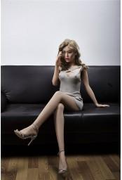 Mannequin sexy et articulé en TPE - 155cm - Akisha