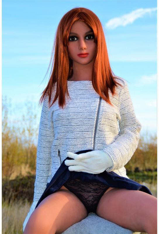 Mannequin sexy et articulé en TPE - 155cm - Vera