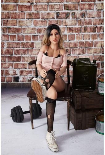 Mannequin sexy et articulé en TPE - 155cm - Cecelia