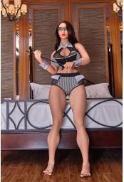 Doll érotique pulpeuse IronTechDoll - 158cm - Akisha
