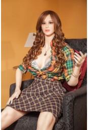 Love doll sensuelle en silicone - 170cm - Edina