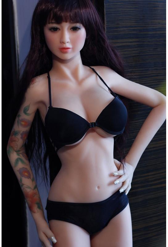 Real doll sensuelle en silicone - 150cm - Viviane