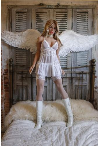 Poupée réaliste Asdoll en TPE - 166cm Bonnet B - Angel