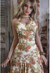 Grande sex doll hyper réaliste en TPE - 170cm - Verna