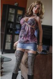 Grande sex doll hyper réaliste en TPE - 170cm - Jan