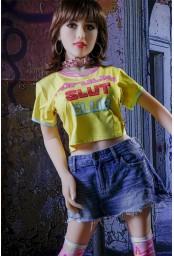 Petite sex doll Asdoll en TPE - 140cm - Ella