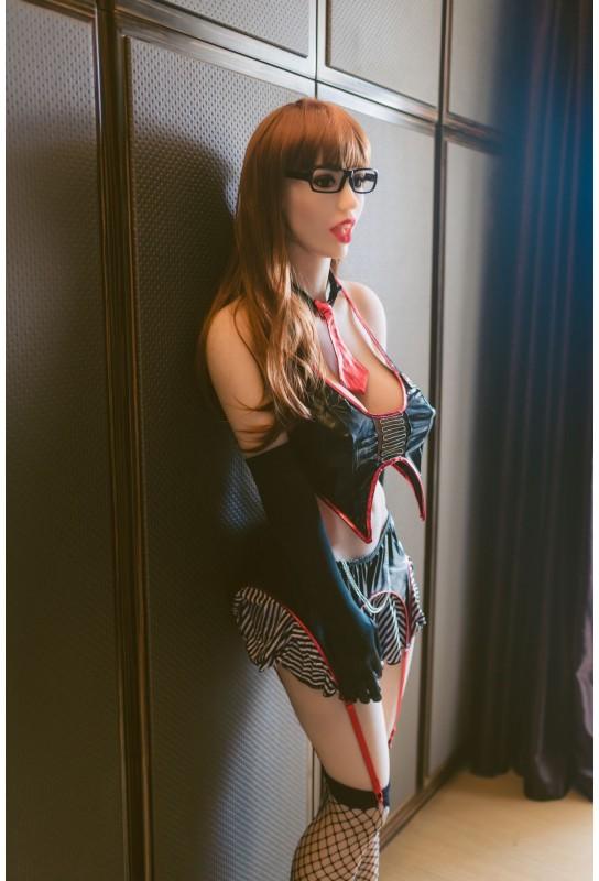 Love doll bouche ouverte en TPE - 170cm - Leila