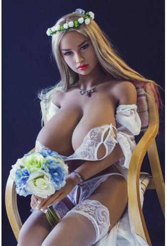 Love doll poitrine géante en TPE - 156cm - Lolo