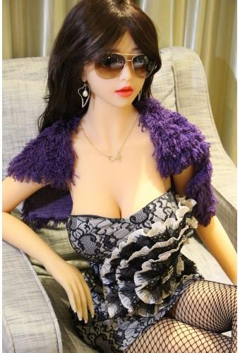 Love doll peau douce en TPE - 168cm - Valentine